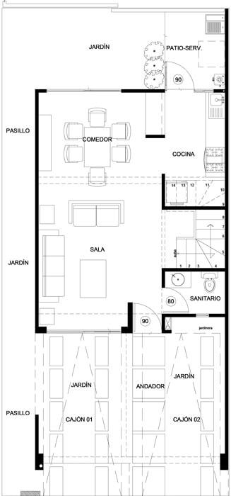 planos Casas Modelo Abedul