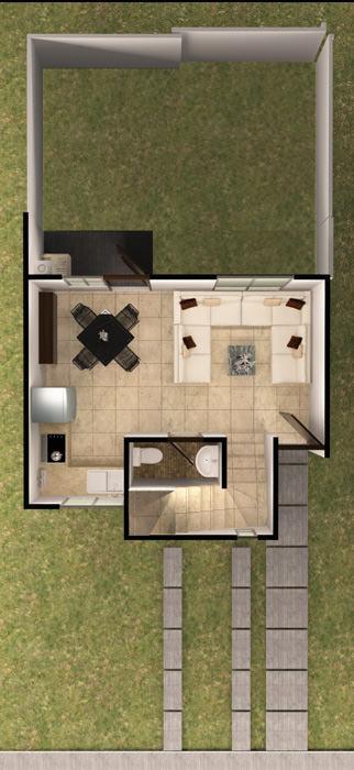 planos Casas Modelo Agave