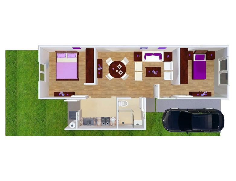 planos Casas Modelo Álamo