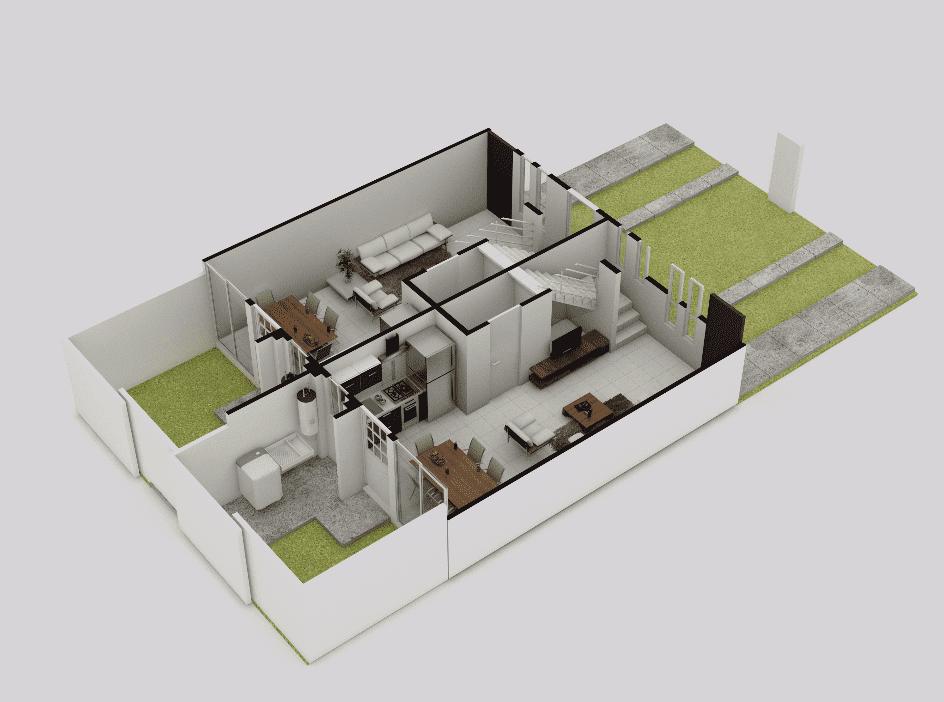 planos Casas modelo Alazán