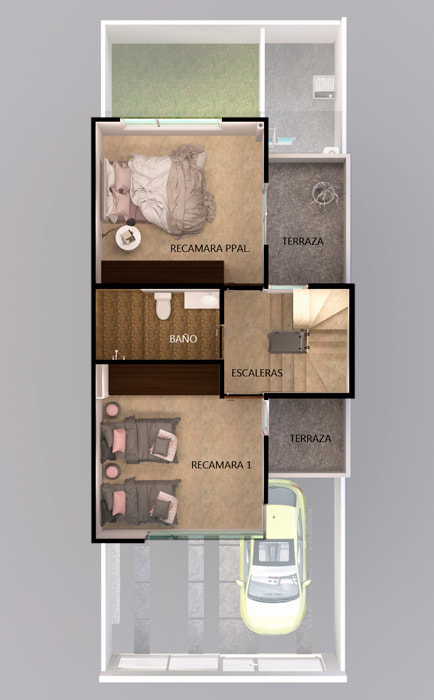 planos Casas Modelo Alcázar