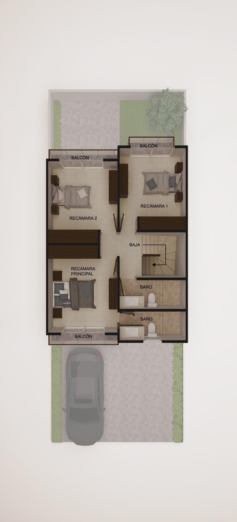 planos Casas Modelo Aljibe