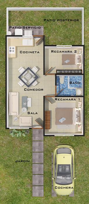 planos Casas Modelo Almendro