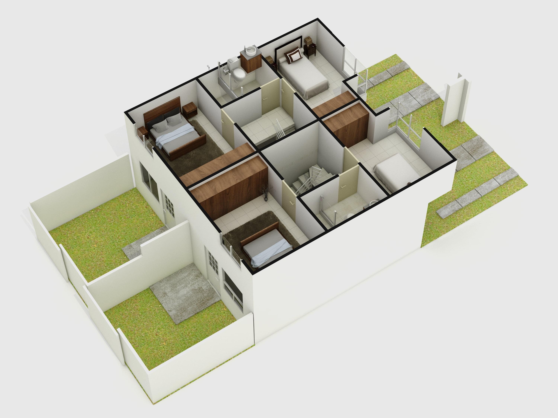 planos Casas Modelo Arrayan