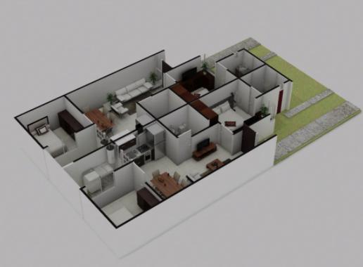 planos Casas Modelo Camelia
