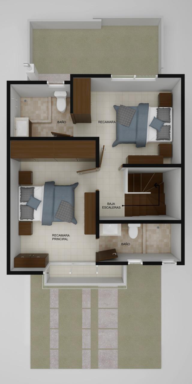 planos Casas modelo Caoba