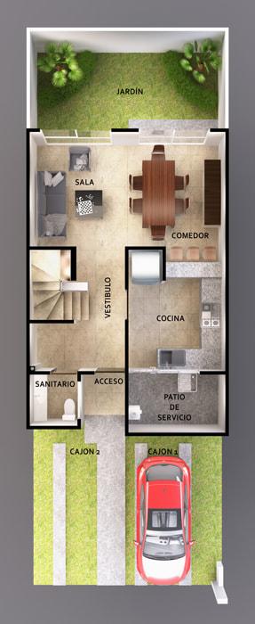 planos Casas Modelo Catamarán II