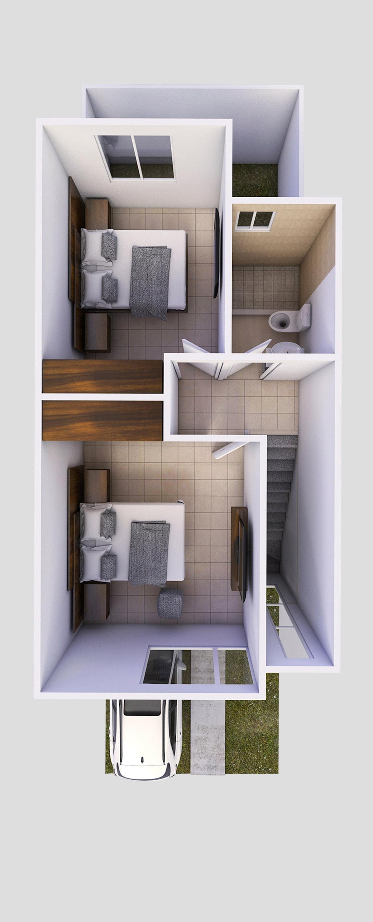 planos Casas modelo Ciprés