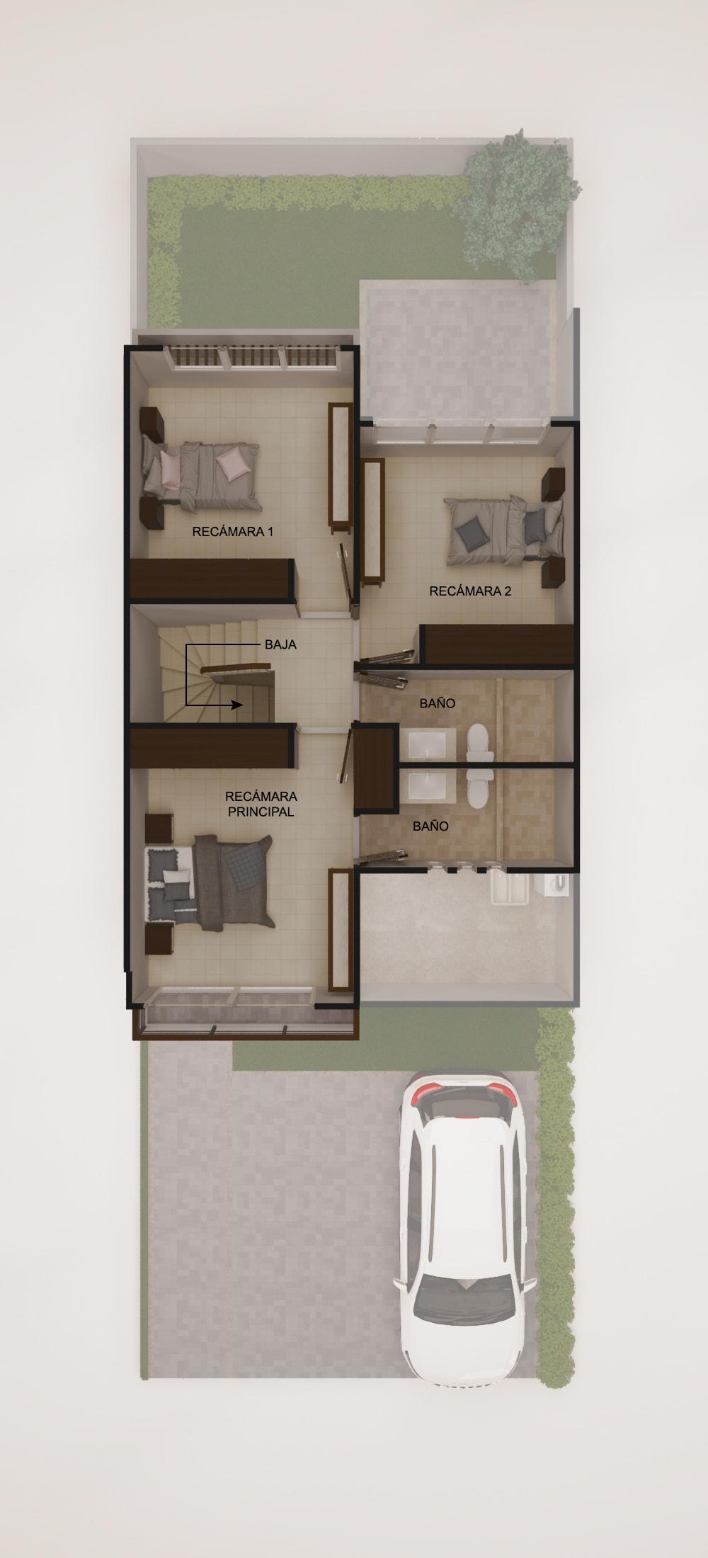 planos Casas Modelo Fresno