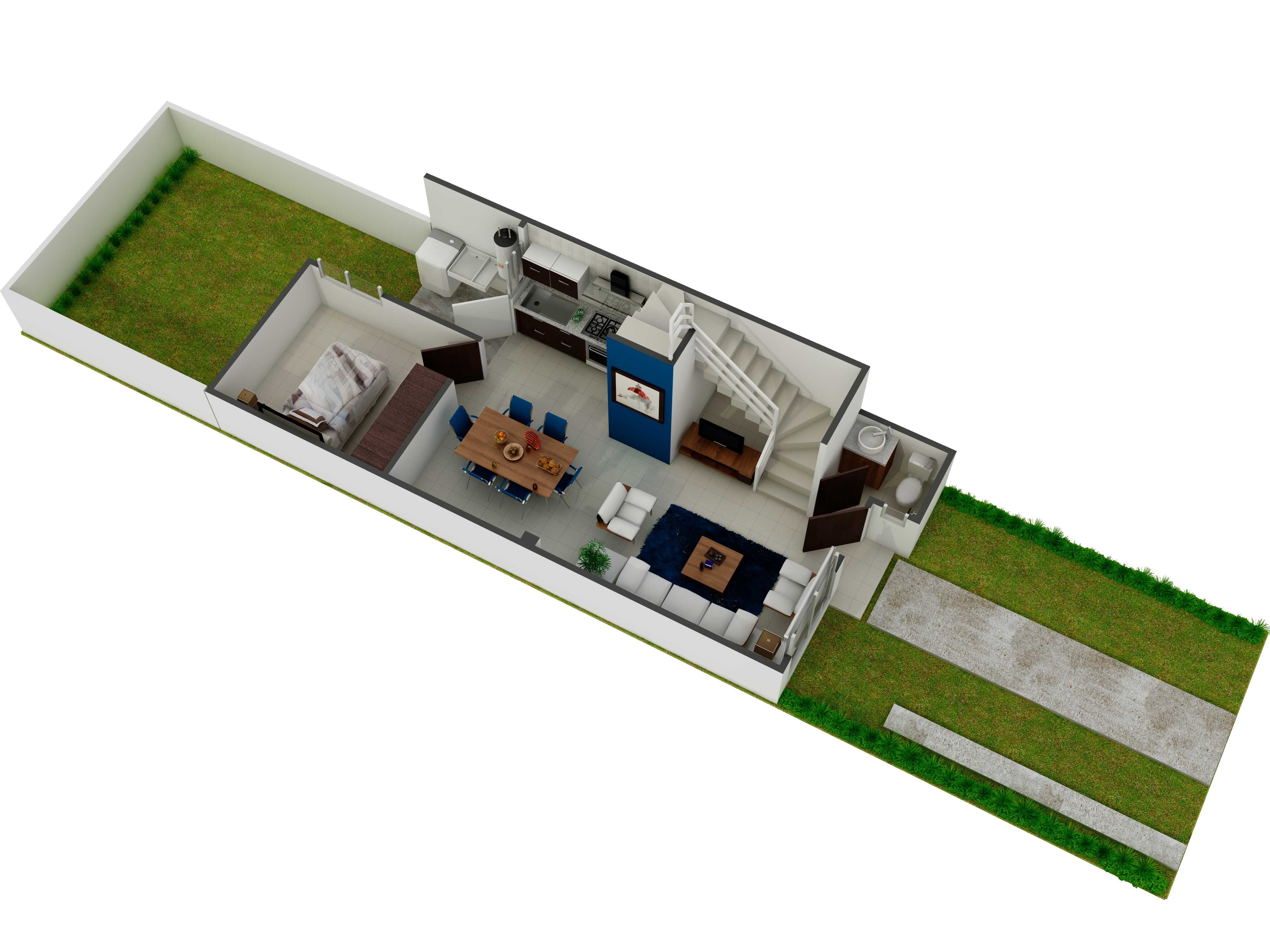 planos Casas Modelo Galeaza