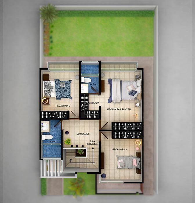 planos Casas Modelo Navío