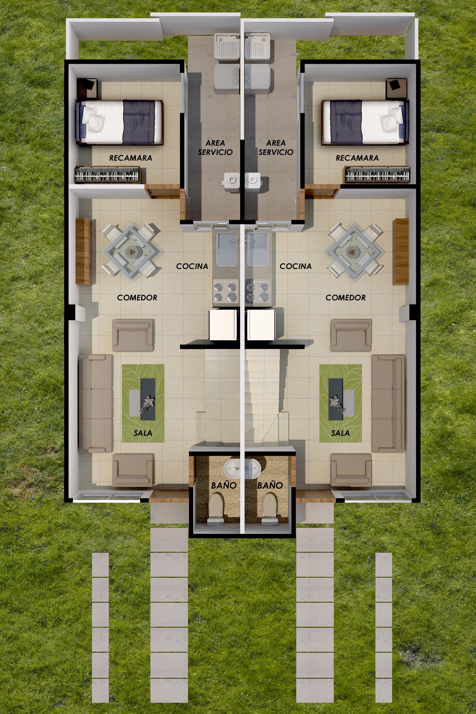 planos Casas Modelo Olivos