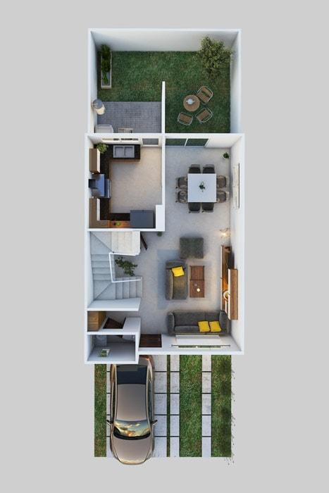 planos Casas Modelo Oyamel