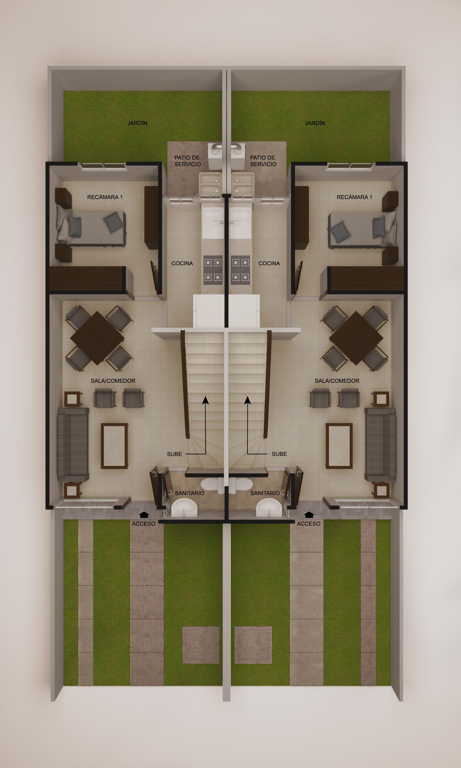 planos Casas Roble