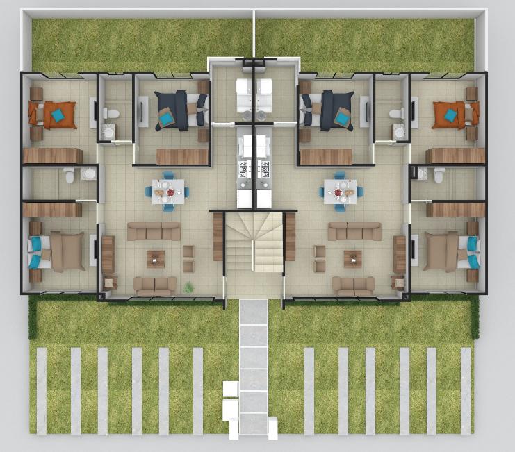planos Departamentos Modelo Ceiba