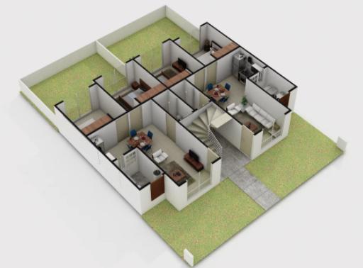 planos Departamentos modelo Ciruelo