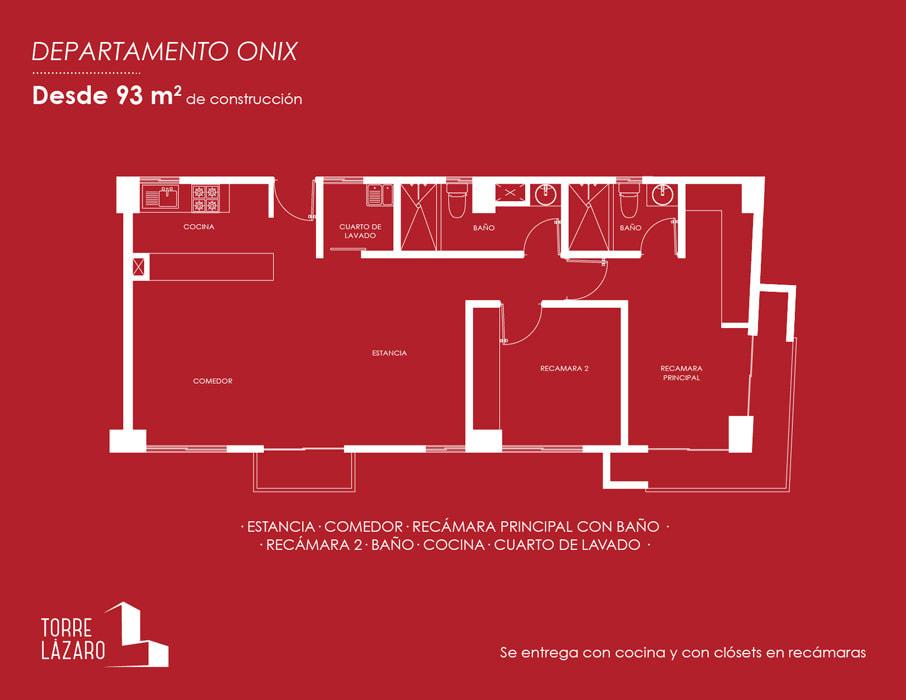 planos Departamentos Modelo Onix