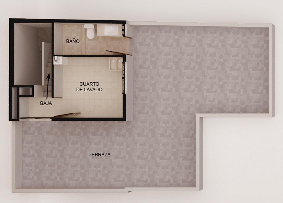 planos Departamentos Room Garden