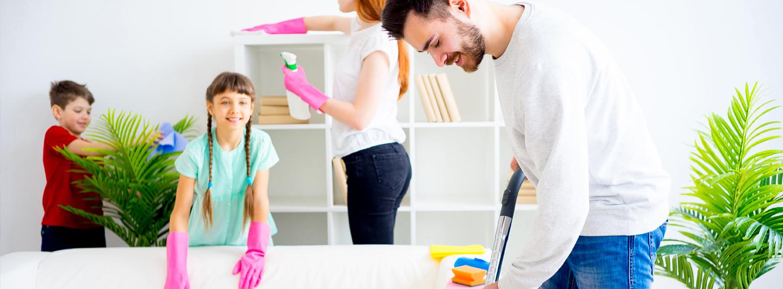 Ten tu casa limpia por más tiempo de manera sencilla